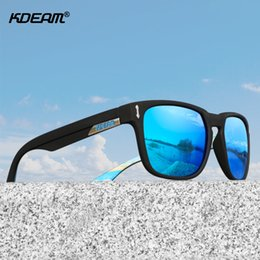 sunglasses screws NZ - Kdeam Men 2019 Polarized Sunglasses 5-barrel Screw Hinge Outdoor Driving Sun Glasses For Women Wear-resisting Gafas De Sol MX190723