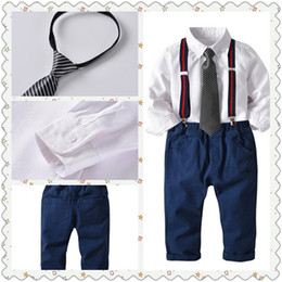 kids casual blazers NZ - Suits for Baby Boy Costume Cotton Boys Suits Single Breasted Kids Blazers Boys Suits Set Formal Wedding Wear Children Clothing