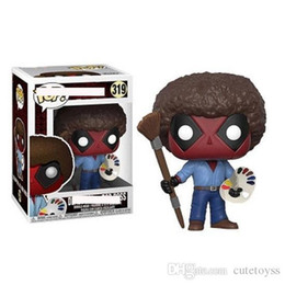 $enCountryForm.capitalKeyWord Australia - Good Anime Toys For Children FUNKO POP Joy of Painting Bob Action Figure Collection Toy Toys For Kids gift factory price