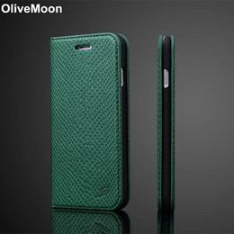 Iphone case snake wallet online shopping - Snake Leather Flip Case For iPhone Cases Slim Card Holder Wallet Back Cover For iPhone Plus Plus Capa Coque Shell T191017