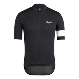 rapha men s cycling jersey NZ - 2019 RAPHA Men Summer Cycling Short Sleeve Jersey Shirt Bicycle Clothes MTB Bike Wear Comfortable Breathable K072701