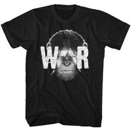 Painting Faces UK - Planet of The Apes Caesar WAR Face Paint Men's T Shirt Monkey Madness