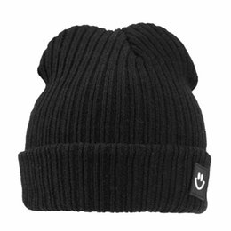 $enCountryForm.capitalKeyWord Australia - New Winter Warm Children Hat Smile Face Kids Comfortable Knitted Hat Earflap Beanie Crochet Baby For Boys And Girls