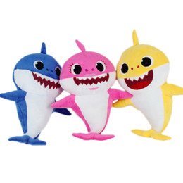 a8c81fc8 New hot aNime online shopping - Hot sale Color cm inch Baby shark With  Music Cute