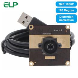 $enCountryForm.capitalKeyWord Australia - ELP Wide Angle 1080P 2 Megapixel UVC AR0330 CMOS USB Camera Module with 180 degree Distortion Correction Lens Mini PCB Webcam
