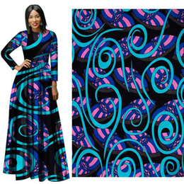 Wholesale Batik Fabric Australia - New soft cotton Fabric Fashion African Wax Print Fabric colorful pattern Ankara African Batik Fabric for party dress