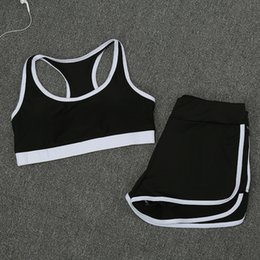 Active Suit Australia - 19SS Active Women's Summer Tracksuits Designer Two-piece Suit Breathable Comfortable Cloth Women's Yoga Clothing Suit Sportswear Wholesale