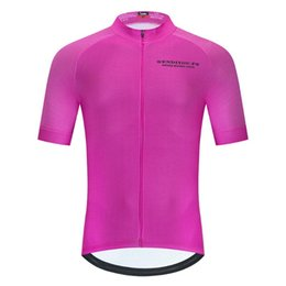 racing cooler Canada - SPEED RIDING COOL High quality net eyelet short sleeve cycling jersey 2020 downhill MTB jersey BMX bike Breathable racing shirt