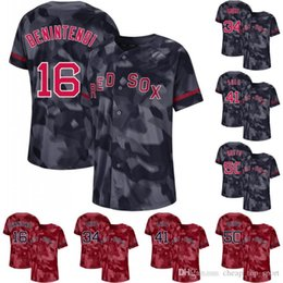 948aec9c9 Men Camo Boston 16 Andrew Benintendi 50 Mookie Betts 34 David Ortiz 41  Chris Sale 19 Jackie Bradley Jr. Red Sox Baseball Jerseys