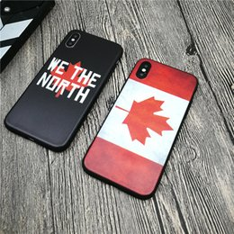 maple iphone Canada - Retro Style Canada Maple leaf case soft for iphone 11 PRO X XS MAX XR 8 7 6 6S plus matte silicone phone cover coque fundas
