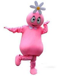 $enCountryForm.capitalKeyWord Australia - Yo Gabba Gabba Foofa Mascot Adult Costume Character Adult Outfit school mascot hot sale direct selling Halloween Costumes