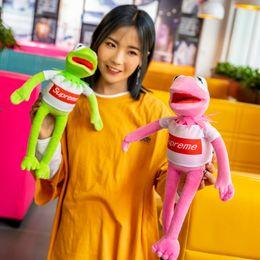 $enCountryForm.capitalKeyWord Canada - Frog Stuffed Animals Doll Sesame Street Plush Toys Kermit Collectible Soft Birthday Present Muppet Show 13 5zm F1