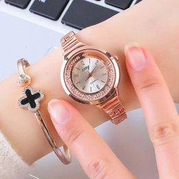 Discount stylish glasses for women - Women Fashion Watch Creative Lady Casual Watches Stainless Steel Stylish Desgin Rose Quartz Watch for Female relogio mas