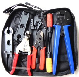 $enCountryForm.capitalKeyWord Australia - Solar Tool Kit solar Tool set MC4 crimping tool with cable stripper, cable cutter, MC4 spanner and screwdriver A-K2546B-4