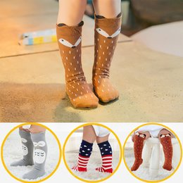 Cute Cartoon pairs online shopping - 1 Pair Unisex Cartoon Cute Cotton Sock Clothes Toddler Infant Knee High Long Socks for Baby Infant Cute Animal Kids