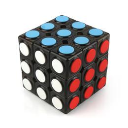 Magic Gifts Australia - Color box Good gift learning education toy three stage fashion cube 3x3x3cm Mini Magic Cube game magic cube