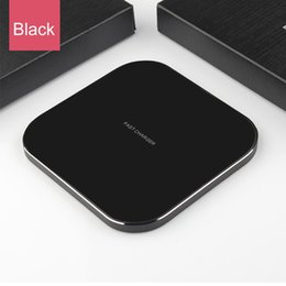 iphone xr charging station Australia - Fast wireless charge base for iPhone 11 11 Pro XS Max XR x 8 quick Qi railway station for Samsung charger