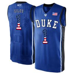 5c681826c57 Basketball Jersey Sizes UK - Mens Harry Giles Jersey Custom Duke Blue  Devils College Basketball Jerseys