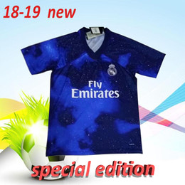 football specials 2019 - Top thai quality 2018 2019 new Real Madrid soccer jersey special edition 18 19 MODRIC BALE KROOS ISCO BENZEMA adult foot