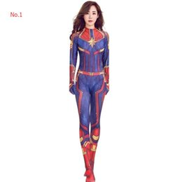 women s fancy dress Australia - Designer Womens Cosplay Dresses Luxury Halloween Costume Captain Surprise Cosplay Fancy Women One-piece garment 2 Colors Wholesale