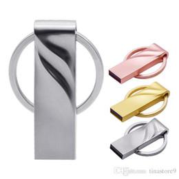 $enCountryForm.capitalKeyWord Australia - Metal veins usb 2.0 flash pendrive 4gb 8gb 16gb 32gb memory card 64gb high speed pen drive cute usb drive over 40pcs free logo