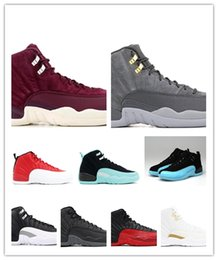 $enCountryForm.capitalKeyWord Australia - 2019 With Box Mens and Womens Basketball Shoes Sneakers 12S XII Flu Game Royal Taxi French Blue for Men Sports Shoes High Cut