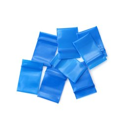 cellophane package Australia - Blue Self-adhesive Cello Cellophane Bag 300pcs 1.8x2.5cm Self Sealing Small Plastic Bags for Candy Packing Cookie Packaging Bag