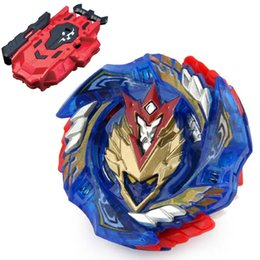 red beyblade NZ - B-127 Starter Cho-Z Valkyrie.Z.EV Burst B 127 Beyblade B127 CHO Z New Kids Toy Top LR Red Bey Launcher