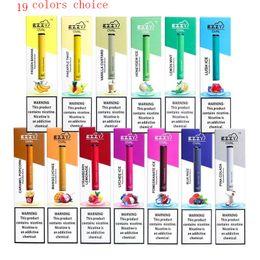 Kartuşlar Vape Kalem PK Puff Artı Bar POP Bidi Puff Glow POP 1.3ml Çok Renkli Ezzy OVAL Tek Cihaz Pod Başlangıç Seti 280mAh Pil