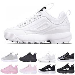 new concept 4e3ca 3e094 Original FILA designer Femmes Chaussures de course noir blanc sable Hommes  formateurs section spéciale baskets de sport augmenté occasionnel taille de  ...