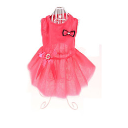 Teddies Dresses Australia - Pet dog dress Teddy Chihuahua poodle spring and summer models little princess pettiskirt pet summer clothing