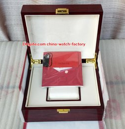 Gift sell online shopping - Hot Selling Top Quality PP Nautilus Watch Original Box Papers Card Wood Gift Boxes Handbag CM For Aquanaut Watches