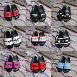 ac6f891def neue Designer Damenschuhe Ace chaussures Sommer multicolor einfachen Trend  wilde Buchstaben dekorative Damen Gummi niedrig, um beiläufige Hausschuhe  zu ...