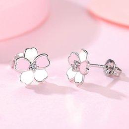 5b62b8e44 Swarovski Zirconia Stud Earrings Australia - CZ Crystal from Swarovski  Fashion Jewelry Stud Earrings For Women