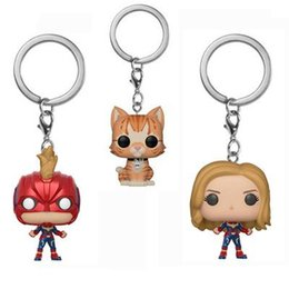 best toys UK - Best gift Funko Pocket POP Keychain - cat Child's Play Vinyl Figure Keyring with Box Toy Gift Good Quality