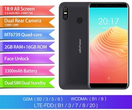 Discount mobile phones indonesia - Ulefone S9 Pro 5.5 inch HD+ Mobile Phone Android 8.1 MTK6739 Quad Core 2GB RAM 16GB ROM 13MP+5MP Dual Rear Cameras 4G Ce