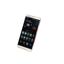 Wholesale android phone huawei ascend resale online - Huawei Ascend Mate7 Mate G LTE Phone GB RAM G G G ROM mAh WIFI Bluetooth Camera Original Refurbished Mobilephone