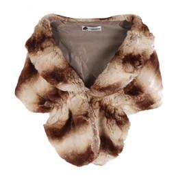 $enCountryForm.capitalKeyWord UK - EFINNY Faux Rabbit Fur Coats Jackets Noble Bridal Wedding Faux Fur Long Shawl Stole Wrap Shrug women Scarf D2 H7