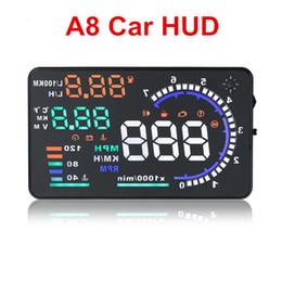 $enCountryForm.capitalKeyWord Australia - A8 Car HUD Head Up Display Fuel Consumption OBDII Driving Data Diagnosis Detector Overspeed Alert Alarm Windshield Projector