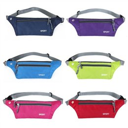$enCountryForm.capitalKeyWord Australia - Waterproof Running Waist Bag Sport Pouch Bag Cycling Belt Outdoor Mobile Phone Gym Fitness Sport with Earphone Hole