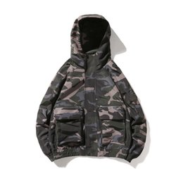 China 2019 Mens Spring Jacket Waterproof Winderbreaker Warm Jacket Tactical Camouflage Hunting Clothing Army Outwear Coat Men cheap hunting camouflage jacket suppliers