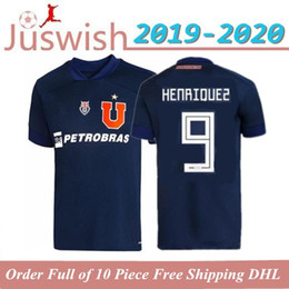 soccer jerseys chile NZ - New 2020 2021 Club Universidad de Chile Soccer Jerseys 20 21 LSOTELDO Oroz HENRIQUEZ BEAUSEJOUR ECHEVERRIA CAMISETA LOCAL Football Shirt
