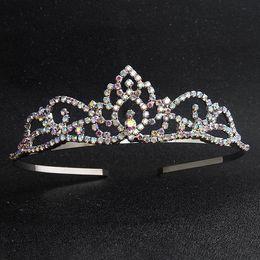 $enCountryForm.capitalKeyWord NZ - New fashion Wholesale hair hoop simple diamond wedding headdress hair fashion accessories for children or adult