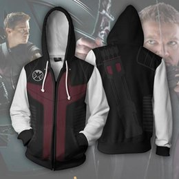 fairy tail prints Australia - Fashion Cosplay Zipper hooded Jacket clothing 3D Print FAIRY TAIL Costumes Etherious Natsu Dragneel Sweatshirts Hoodies