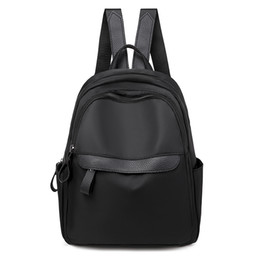College wind baCkpaCks online shopping - Women s Backpack Trend Solid Color Outdoor Leisure Bag Youth College Wind Girl Backpack