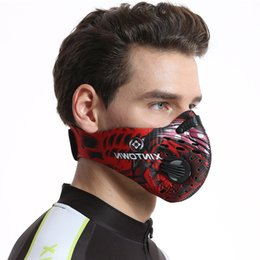 Bicycles Training Australia - Men Women Cycling Face Mask Activated Carbon Dust-proof Anti-Pollution Bicycle Bike Outdoor Training mask face shield