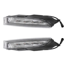 vw drl light Canada - 12V For VW Scirocco R 2010 - 2014 driving LED DRL Daytime Running Light Daylight 12V Fog lamp