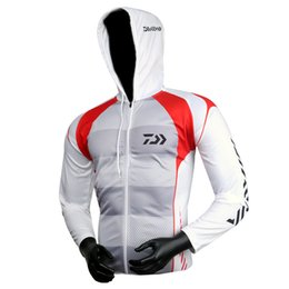 unique clothing designs Australia - Fashion-2019 New Outdoor Men Sportswear Original Creative Design Fishing Mesh Breathable Jersey Moisture Wicking Unique Hooded-clothing