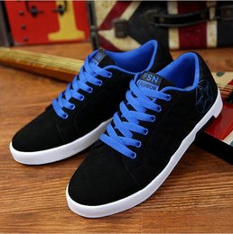 korean canvas shoes for men Canada - new autumn mens canvas shoes Korean nice casual shoes the low heeled shoes for men high top sneakers