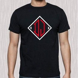 $enCountryForm.capitalKeyWord UK - DJ Dee Jay Famous Disk Jockey Logo Men's Black T-Shirt Size S to 3XL